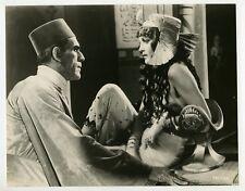 Boris Karloff & Zita Johann 1932 The Mummy Original Photo Horror Film J6628