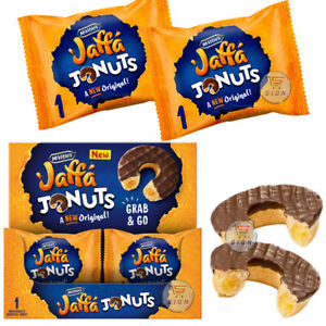 MCVITIE'S JAFFA JONUTS ORIGINAL GRAB & GO 43g (4 / 8 / 12 & FULL BOX)