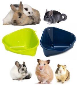 *Small Animal Eco Corner Litter Toilet Pan Tray Rabbit Hamster Guinea Pig