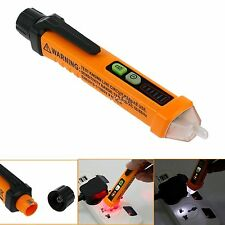 AC 12-1000V  Non-Contact Power Detector Pen Voltage Tester LED Indicator Flash