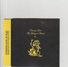 Orange Juice-The Glasgow School UK promo cd album