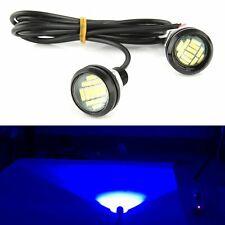 2x Blue DC 12V 15W Eagle Eye LED Daytime Running DRL Backup Light Car Rock Lamp
