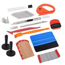 16 PCS Window Tint Micro Squeegee Scraper 2 Magnets Knife Vinyl Wrap Tools Kit
