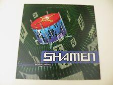 THE SHAMEN - BOSS DRUM - LP 1992 ONE LITTLE INDIAN UK - OIS - EX+/EX- DP
