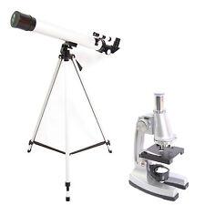 TWMP0406 Set Telescopio e Microscopio 900x Con Cavalletto e Accessori