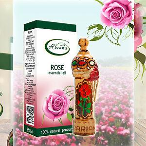100% NATURAL Essential Oil Bulgarian Rose - Rosa damascene - 1ml Pure oil