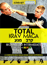 Total Krav Maga: Complete 5 DVD Set - Combatives, Home Drills, Weapons, Ground