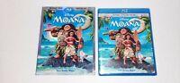 Moana (Blu-ray Disc DVD Combo, 2017, 2-Disc Set, Includes Digital Copy) New