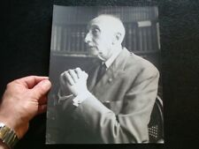 Writer FRANCOIS MAURIAC French Roman Catholic ORIGINAL PHOTOGRAPH by JERRY BAUER