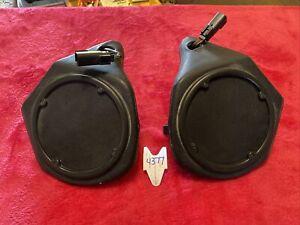 Harley Tour Pack Touring Pak Tourpack Speaker Pod Left Right  Pair Set Work Oem