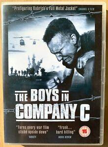 The Boys in Company C DVD ~ 1977 Vietnam War Film Classic starring Craig Wasson