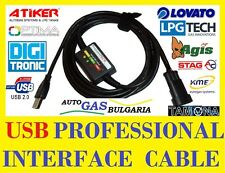 USB 2.0 LPG interface cable - KME, LOVATO, AC STAG, VECTOR, LPGTech, AGIS, 4GAS