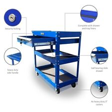 150 US PRO TOOLS TOOL CART TROLLEY WORKSTAION BOX BLUE