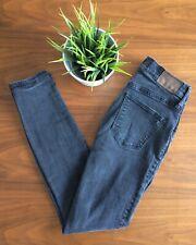 MADEWELL High Riser Skinny Jeans Black Size 27
