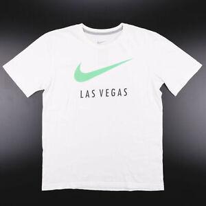 NIKE  White Classic Short Sleeve T-Shirt Mens M