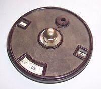 Alte Radio Skala aus Bakelit Volksempfänger ? vor 1945 Ersatzteil !