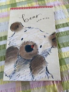 Bear And Bird Notebook And Mirror