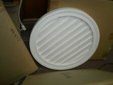 """Fypon decorative round vent 22"""" non functional, new"""