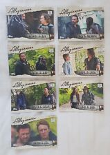 Topps Walking Dead Season 7 Allegiances Complete Trading Card Chase Set