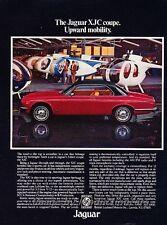 1976 1977 Jaguar XJC Coupe XJ6 Original Advertisement Print Art Car Ad J826