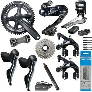 New 2020 Shimano Ultegra Di2 R8050/R8000 Full Electric Rim Brake Groupset