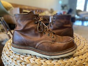 Red Wing 1907 Moc Toe - Copper Rough Size 8