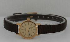 Vintage Omega De Ville Hand-Winding Gold Plated 20mm Watch