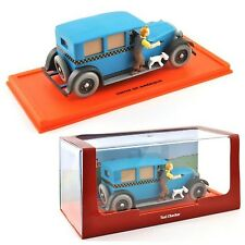 TIN TIN Modellino Auto TAXI CHECKER DieCast MODEL CAR 1/43 Original ATLAS TINTIN