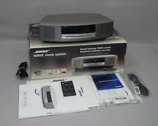 Bose Wave Music System (I) radio CD HIFI Compact Installation Titane Argent Nouveau neuf dans sa boîte