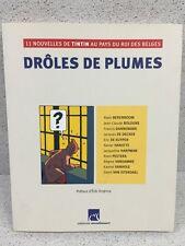 Colección Tintin Hergé Gracioso Plumas Moulinsart Casterman