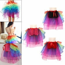 Unbranded Solid Regular Size Tulle Skirts for Women