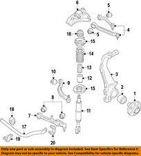 AUDI OEM 09-17 Q5 Front Suspension-Upper Bushing 8R0407515