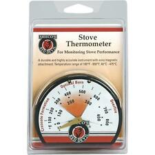 6 Pk Meeco´s Red Devil Magnetic Porcelain Steel Stove Thermometer 425