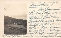 A70/ Pilot Knob New York NY Real Photo RPPC Postcard c1910 Family on Rock