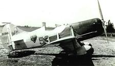 GRANVILLE GEE BEE #53 NC11049 LEFT VIEW B&W PHOTOGRAPH 5X7!!!