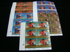 Great Britain Scott #1820-1824 Set Plate # Blocks Of 6 Mnh $40.05 Mnh Nice!