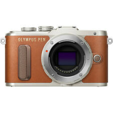 Olympus PEN E-PL8 Mirrorless Camera in Brown Body Only