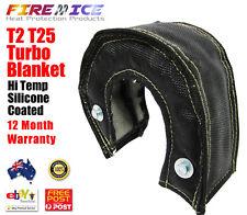 AU Black Turbo Blanket Beanie Small T2 T25 T28 Gt28 L Heat Shield Cover