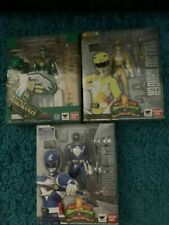 SH Figuarts Mighty Morphin Power Rangers Green, Blue and Yellow