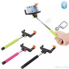 Z07-5 Wireless Monopod Bluetooth Selfie Stick Extendable Tripod (Color: BLUE)
