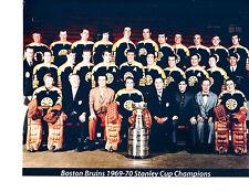 1969 1970 STANLEY CUP CHAMPIONS BOSTON BRUINS 8X10 TEAM PHOTO HOCKEY
