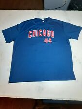 Anthony Rizzo No. 44 Size 2Xl Blue And Red Chicago Cubs Baseball T-Shirt Jersey