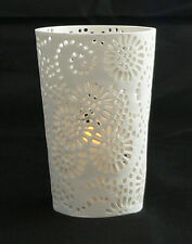10 Large White Tealight candle holder wedding table decorations event party cafe