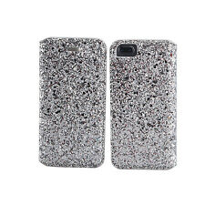 **GLITTER GLAMOUR LEATHER BOOK WALLET CASE COVER FOR APPLE iPHONE 4S 5S 6S 7+ SE