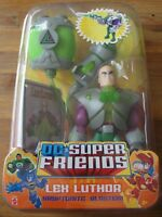 DC Superman Super Friends LEX LUTHOR Figure Toy With Kryptonite Blaster