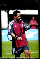 super AK Foto H. Salihamidzic Bayern München 2000-01(1) Orig. Signiert