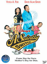 A SAINTLY SWITCH ( New Sealed DVD) Disney