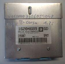 OPEL CORSA B MOTORE dispositivo fiscale BJ 1995 1,2l 16204689