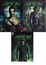 Arrow - Stagione 1, 2 e 3 (15 DVD) Cof. Singoli Serie TV  Italiani Sigillati