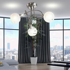 LED Diseño Techo Rondell Lámpara 3 Focos Salón Habitación Lectura de Iluminación